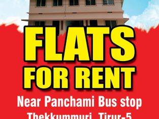 Flats For Rent Tirur Panchami Bus Stop