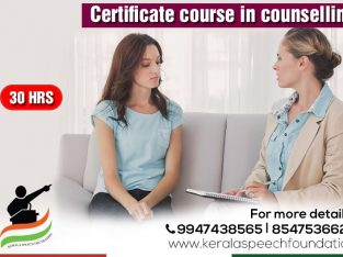 COUNSELLING COURSE, KERALA SPEECH FOUNDATION, KALO