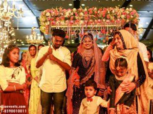 Muslim Wedding Decorations in Malappuram, Kerala