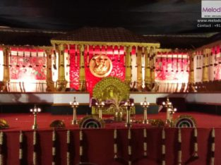 Hindu Wedding Stage Decorations in Thrissur,Kerala