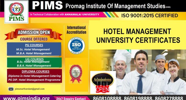 PIMS Hotel Management Courses