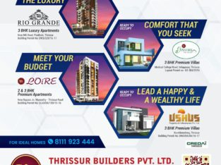 Thrissur Builders | Villa Projects Thrissur