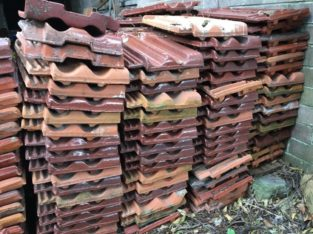 Used Clay Roof Tiles