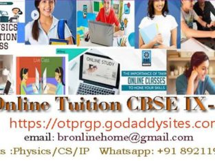 ONLINE TUITION CBSE PHYSICS,COMPUTER SCIENCE