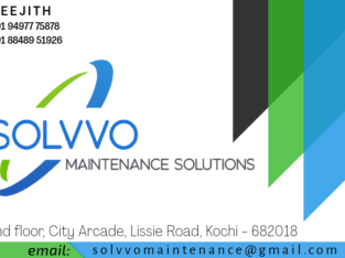 Solvvo Maintenance Solutions