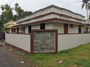 3 BHK, 1100 Sq. Ft Villa For Sale, Paravur, Kochi
