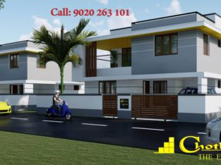 Chothys luxury villas near Techno city, TVPM