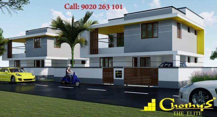 Chothys luxury villas near Techno city, TVPM