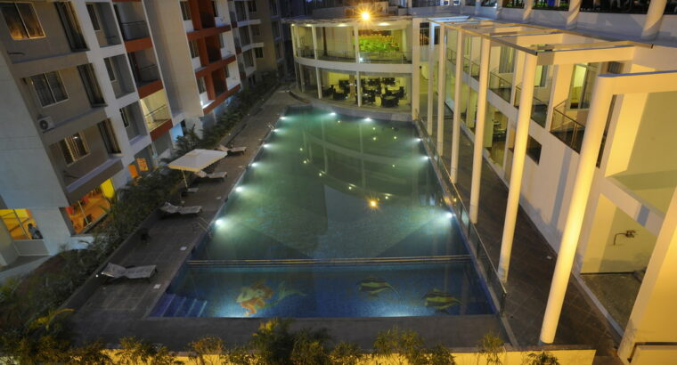 Fully furnished Premium 3BHK at Cyber Palms