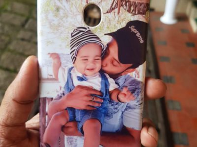 Photo printing on mobile cover