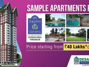 2&3 Bhk Flats & Apartments for sale in Thrissur