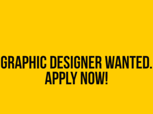 wanted still photographer and poster designer
