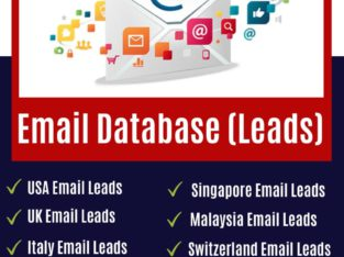 Database Provider|Buy Email Leads|Business Email L
