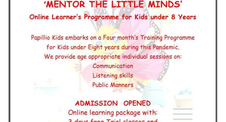 Training programme for children