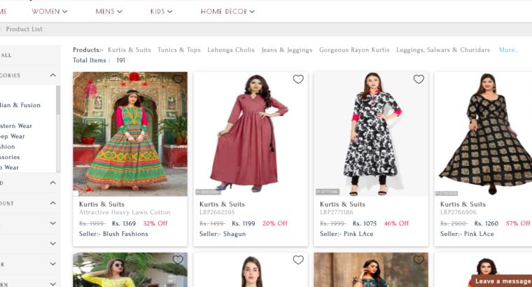 B2B Online Marketplace Running – Source Code Sale