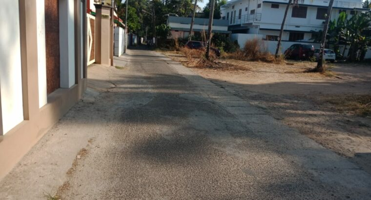 20 cents, House plot for sale at Kochi