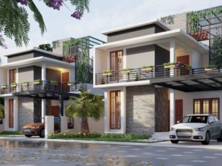 3 BHK – Villas For Sale – Near Kakkanad