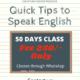 Spoken English course
