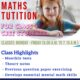 Online Maths Tuition for class X CBSE Students.