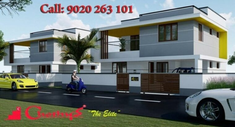 Chothys THE ELITE VILLAS ,Trivandrum