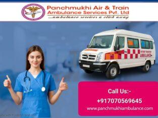 Inexpensive ambulance service in Mukharjee Nagar