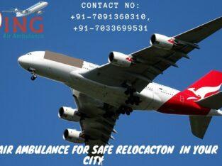 World-Class Medical Facility Air Ambulance Delhi