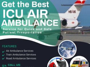 Obtain Upper-Class Air Ambulance Service in Delhi