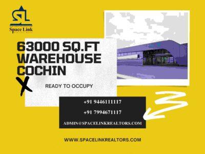 63,000 SQ.FT WAREHOUSE IN COCHIN