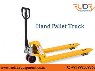 Hand Pallet Truck Manufacturers in India