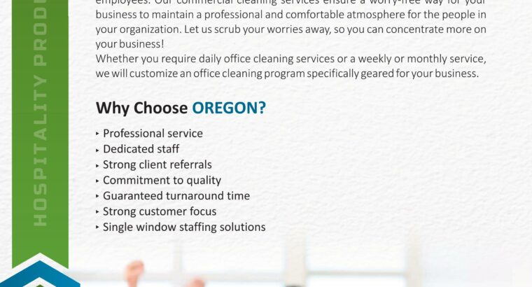 Oregon Hospitality Products And Services
